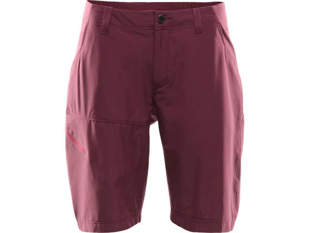 Haglöfs Lite - Pantalones cortos Mujer - rojo